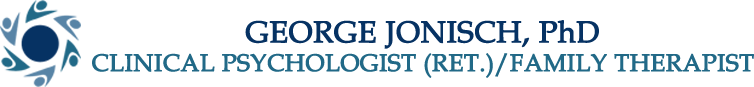 George Jonisch, PhD Clinical Psychologist (ret.) Family Therapist, Logo